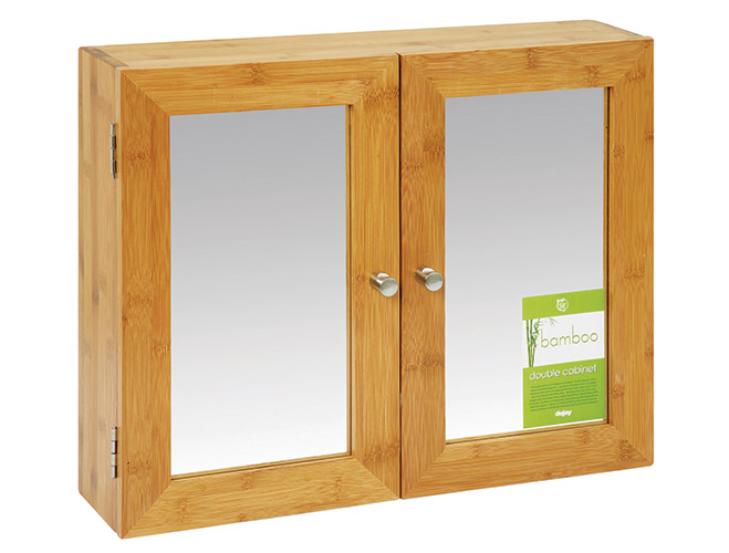 A561 bathroom cabinet double bamboo dejay distributors for Bathroom cabinets co za